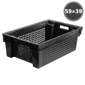 Baskets, boxes, containers Box black